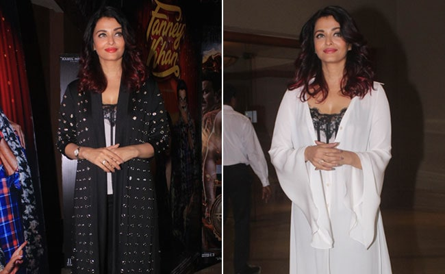 For Aishwarya Rai Bachchan, Style Is Never <i>Mushkil</i>. She's A Dream In Black And White