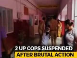 Video : In Video, Cops Drag Suspected Thief Down UP Hospital Corridor
