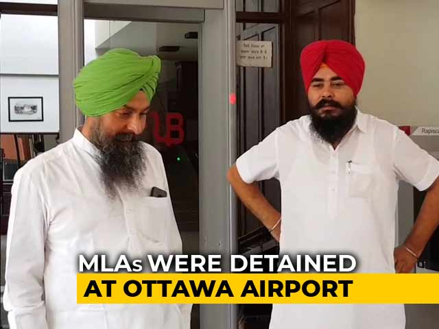 Video : Denied Entry Into Canada Due To Communication Gap, Says AAP Legislator