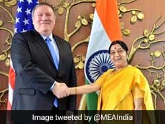 Sushma Swaraj, Nirmala Sitharaman Hold Talks With US Counterparts