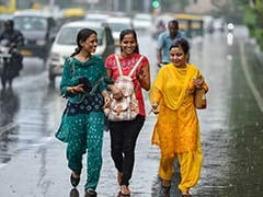 Rain Brings Respite From Humidity In Delhi, Neighbouring Areas