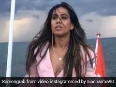 Viral Video: At Switzerland TV Actress Nia Sharma's Hot Titanic Moment