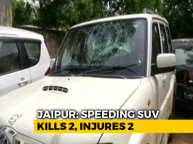 Video : BJP Leader's Son, Drunk, Runs Over Labourers In Jaipur, 2 Dead: Police