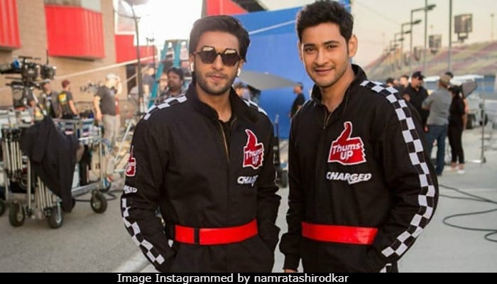 Viral: Ranveer Singh And Mahesh Babu's 'Pic Of The Week', Presented By Namrata Shirodkar