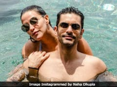 Neha Dhupia And Angad Bedi's 'Sun-Kissed' Pic From Maldives Will Brighten Up Your Day