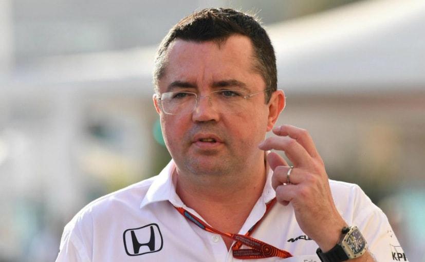 Eric Boullier took over as McLaren's racing director in 2014