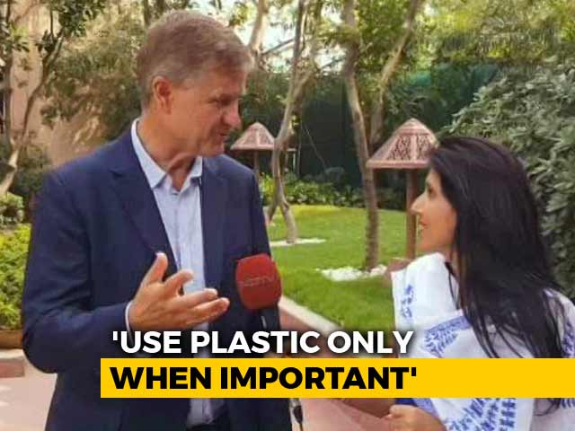 Video : The Way India Is Beating Plastic Pollution, It Is Impressive: Erik Solheim