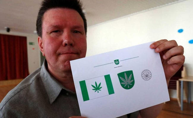 Town Called Kanepi Adopts Cannabis Leaf As Logo After Online Poll