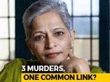 Video : After Dabholkar Shooter's Arrest, Links To Gauri Lankesh Murder Surface