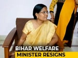 Video : Minister Manju Verma Resigns Over Bihar Shelter Home Rape Horror