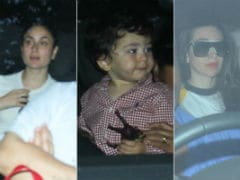 Kareena, Karisma Kapoor, Malaika Arora - The Usual Suspects Spent Sunday At Karan Johar's