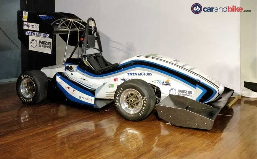 IIT Bombay Racing Team Unveils EVoX Electric Race Car