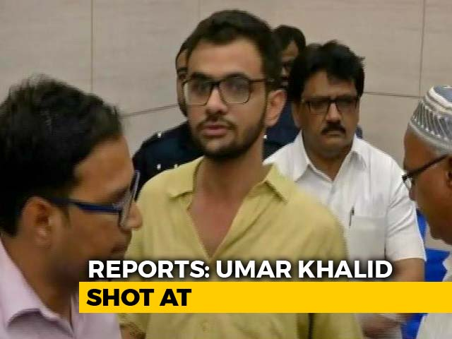 "Video : ""Was Attacked, Man Fired, Escaped"": JNU Student Leader Umar Khalid"