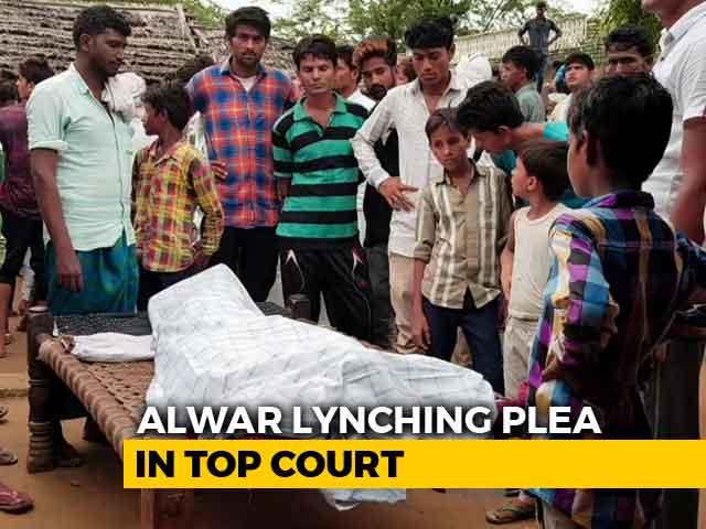 "Video : ""Brutal New India"": Rahul Gandhi Attacks PM After Alwar Man's Death"
