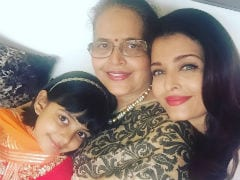 Aishwarya Rai Bachchan, Aaradhya And Vrinda Rai's Twist To Raksha Bandhan Is Oh So Cute. See Pics