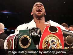 Anthony Joshua To Defend Heavyweight Titles Against Alexander Povetkin