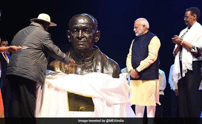 PM Modi Unveils Bust Of Sardar Vallabhbhai Patel In Uganda