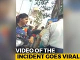 Video : Haryana Woman Abuses Cop For Issuing Challan, Threatens Action