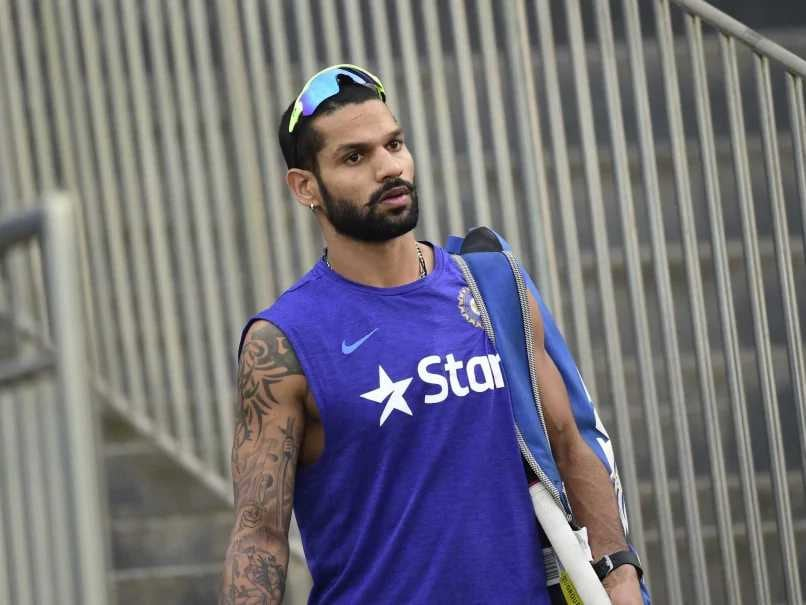 IND vs WI: Shikhar Dhawan trains hard for ODI and T20 series