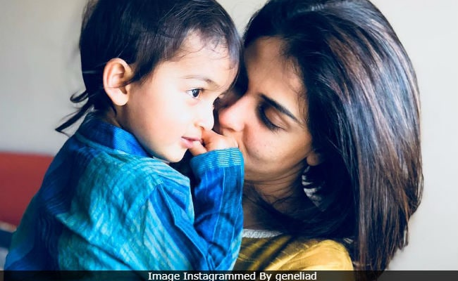 Riteish Deshmukh And Genelia D'Souza's Son Rahyl, 2, Adorably Nominates Taimur In Cute Fitness Challenge Video