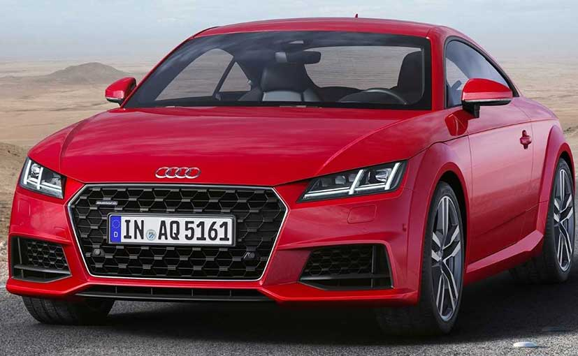 2019 audi tt coupe facelift revealed receives subtle design updates ndtv carandbike. Black Bedroom Furniture Sets. Home Design Ideas