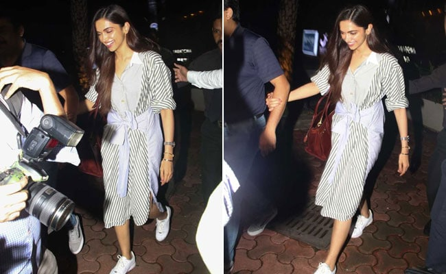 60e3ccf437 Deepika Padukone Makes A Strong Case For Stripes - Again