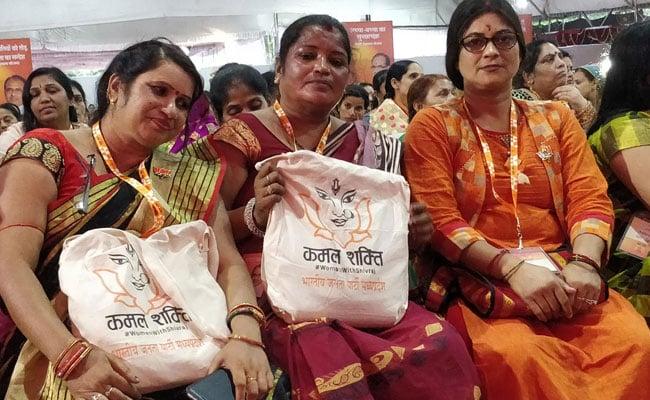 Ahead Of Madhya Pradesh Polls, BJP Readies Women's Team 'Kamal Shakti'