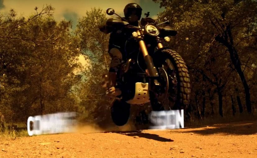 The Triumph Scrambler 1200 will have a comprehensive electronics package