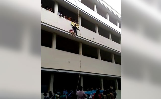 On Camera, Fake Instructor Pushed Student To Death During Disaster Drill