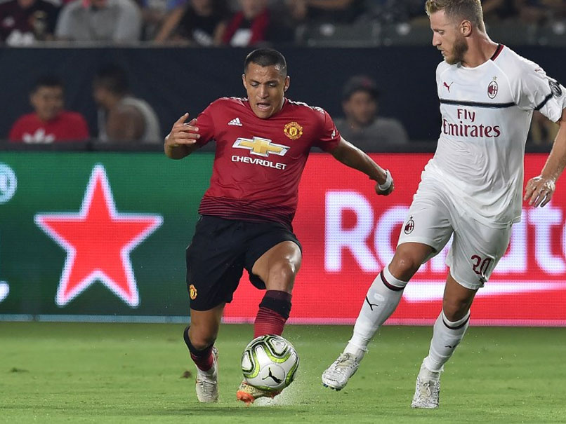 Alexis Sanchez On Target As Manchester United Edge AC Milan