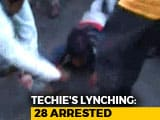 Video : New Video Of Techie Killed In Karnataka Shows Him Being Dragged With Rope