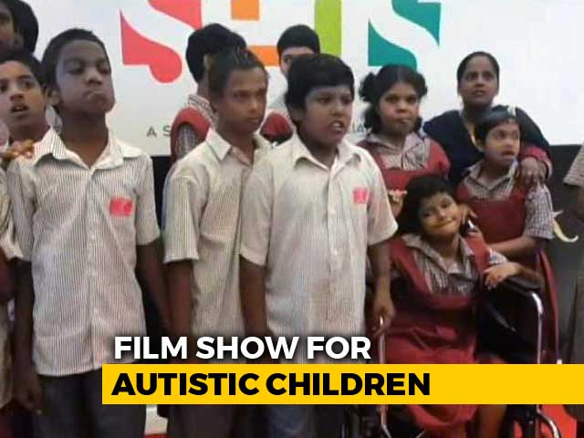 Video : In A First, Chennai Theatre Screens Special Show For Autistic Children