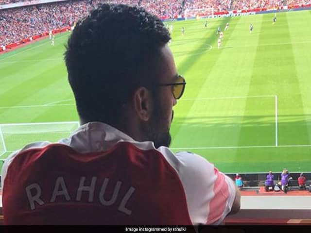 KL Rahul Visits Arsenals Emirates Stadium, Showcases His Football Skills. Watch