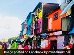 Mumbai Slums Get A Colourful Face-Lift