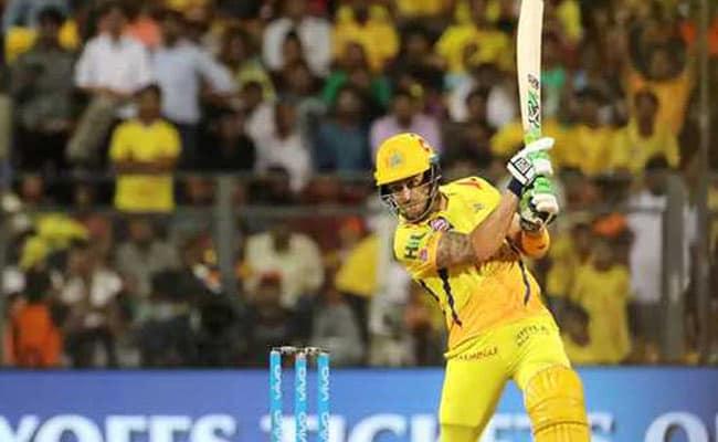 IPL Qualifier 1: सनराइजर्स को 2 विकेट से हराकर चेन्नई सुपरकिंग्स फाइनल में पहुंचा, डुप्लेसिस ने बनाए नाबाद 67 रन