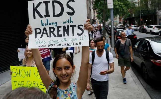 family separation protest reuters
