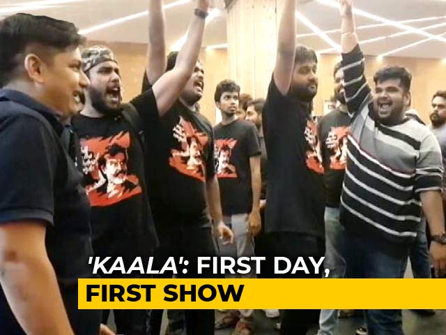 Inside A Chennai Theatre For Rajini's 'Kaala' First Day, First Show