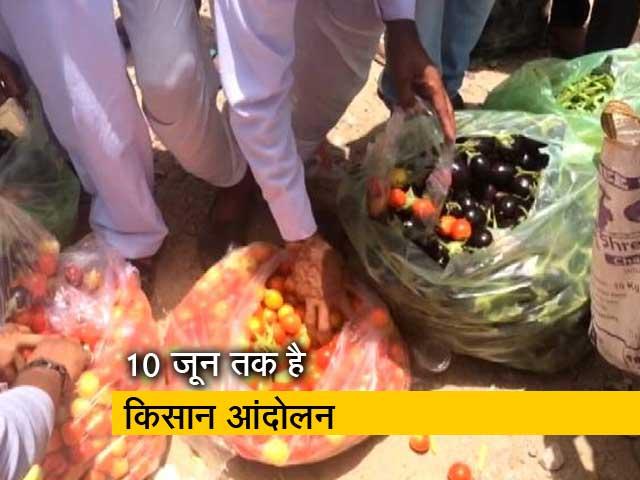Video : राजस्थान के किसान मुफ्त में बांट रहे हैं सब्जी
