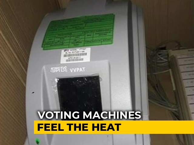 Video : Vote Machines In UP, Maharashtra Hit By Heat Wave, Says Poll Commission