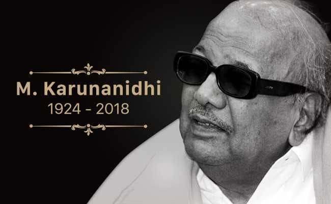 M Karunanidhi: Scriptwriter Whose Works Led The Dravidian Movement