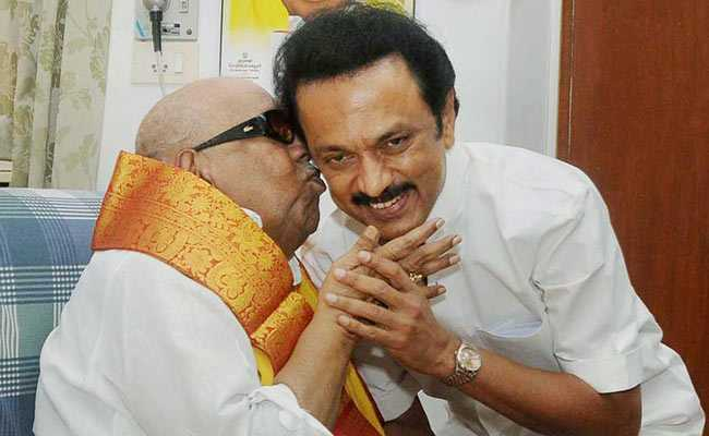 Karunanidhi Death Can I Call You Appa One Last Time Mk Stalins