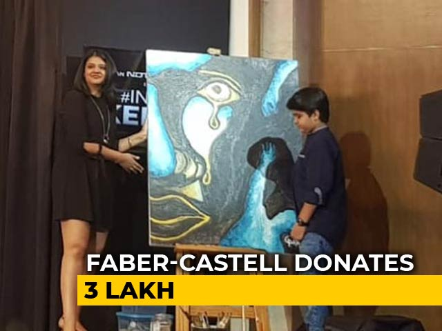 Video : Faber-Castell's Gesture Of Helping Flood Victims At #IndiaForKerala Telethon