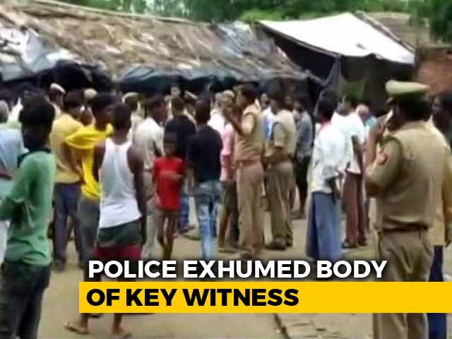 Video : Body Of Unnao Rape Case Witness Exhumed Despite Family's Disagreement