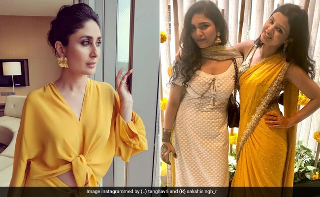 Yellow Is Still The Colour Of The Season - Kareena Kapoor And Sakshi Dhoni Know This