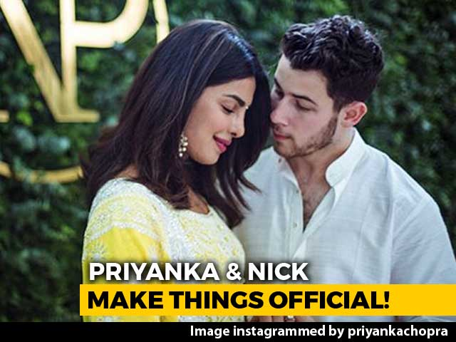 Priyanka Chopra & Nick Jonas Make It Official With A Roka Ceremony