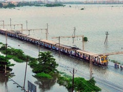 Heavy Rains Disrupt Train Services In Maharashtra