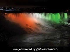 Empire State Building, Niagara Falls Lit-Up For India's Independence Day