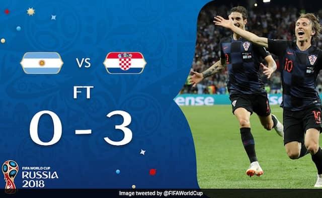 Fifa World Cup 2018 Croatia stun Argentina 3-0