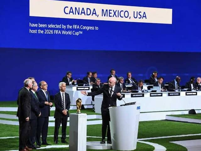 FIFA World Cup 2026: US, Mexico, Canada To Host Tournament