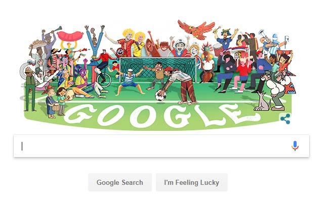 World Cup 2018: गूगल ने बनाया स्पेशल डूडल, जानिए फीफा वर्ल्ड कप से जुड़ी 10 बातें